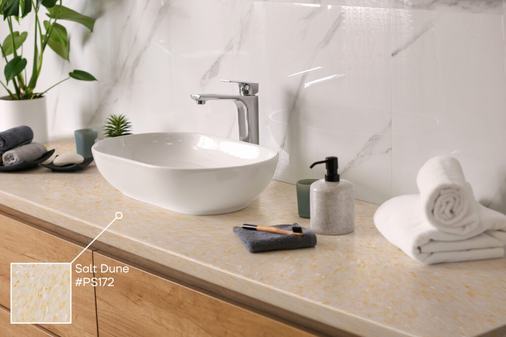 recycled plastic bathroom